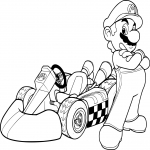 Mario dans Mario Kart