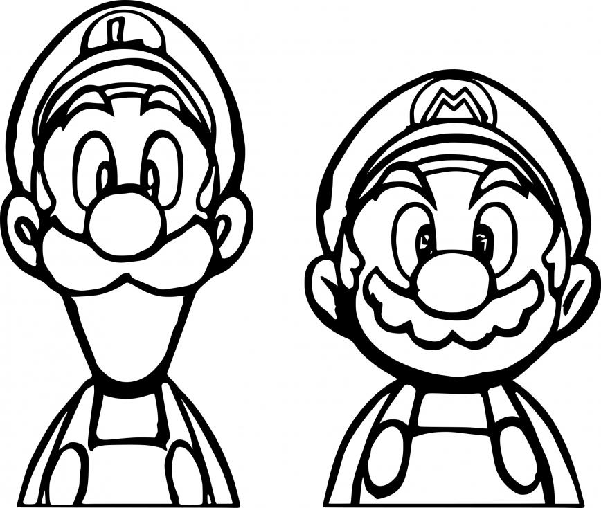 Mario Dessin A Colorier - Dessin et Coloriage