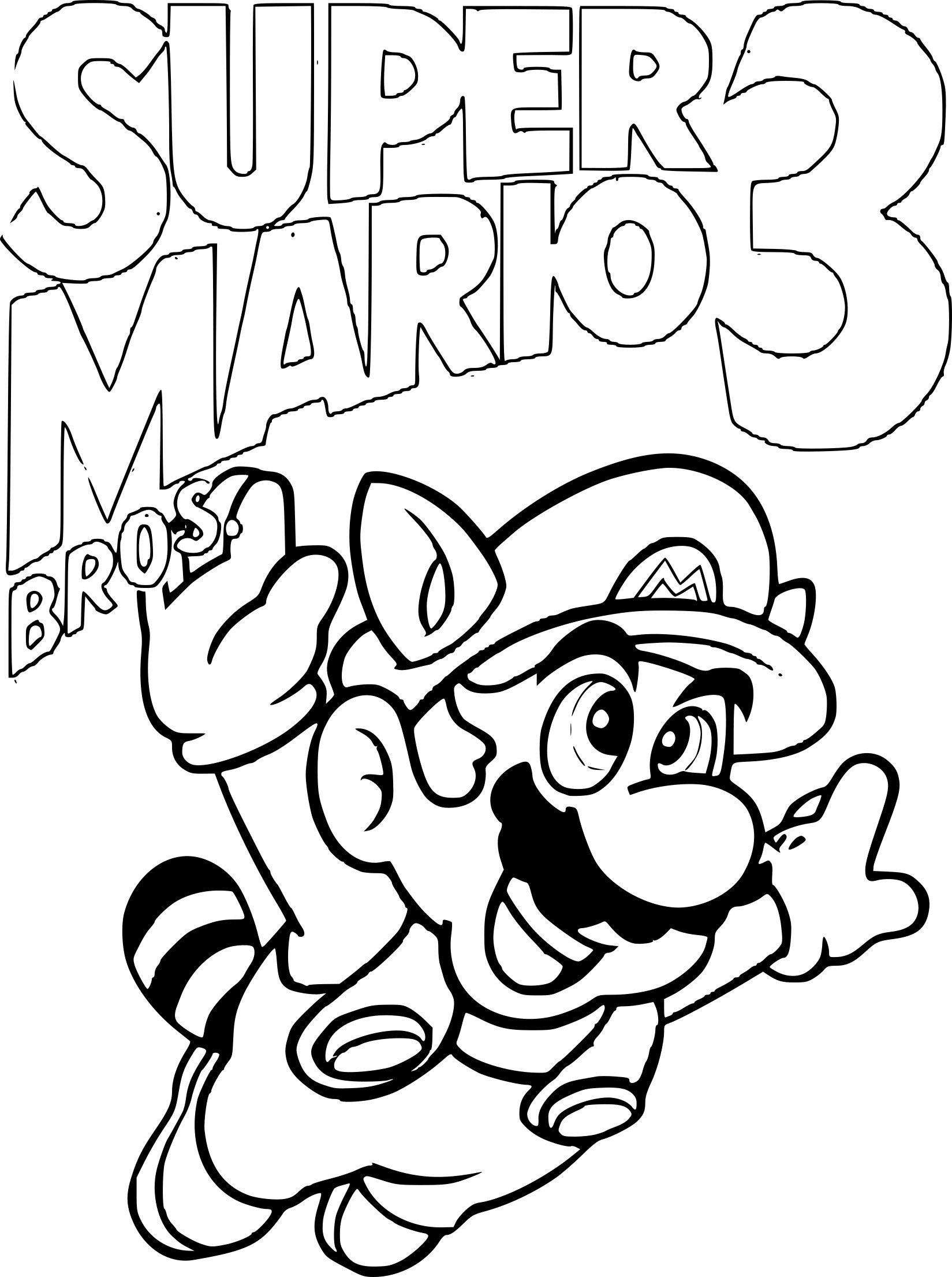 Luxe Dessin A Colorier De Mario Et Luigi