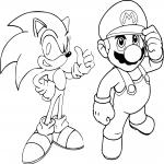 Mario et Sonic